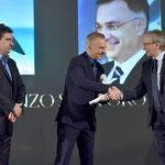 Lecce (Italia), 30 giugno 2018. Grand Hotel President, Sala Apulia. Momento della premiazione.(ItalPhoto  Mesagne)
