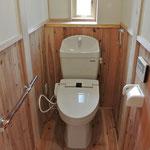 トイレには腰板