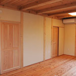 オリジナル無垢ドア