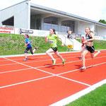 50m Sprint Viktoria und Josi