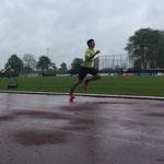 Dominik Platz 3 über 100m / Platz 2 Weitsprung