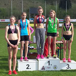 Paula 1. Platz / Lucia 3. Platz (U14) - 80m Lauf