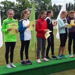 Viktoria holte sich den Kreismeistertitel im Dreikampf !