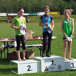 Viktoria 2. Platz / Charlotte 3.Platz (U12) - 60m Lauf
