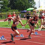 Lucia sprintet auf den 2. Platz