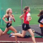 Luka läuft mit einer guten Zeit von 2:42,12 auf den 5. Platz