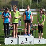 Josi 2. Platz / Viktoria 3. Platz (U12) Kugelstoßen