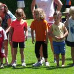 Die Jüngsten starten zum 45 sec. Lauf