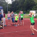 Paula wirft den Speer 26,97m - neue pers. Bestleistung und Platz 4