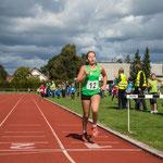 Johanna läuft auf den 4. Platz mit guten 3:15,06