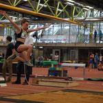 Magdalena springt mit 5,07m auf Platz 2