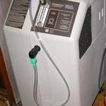 Mein zweiter Sauerstoffkonzentrator für den zweiten Brennerplatz