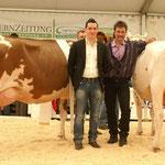 Richter und Ringman mit den frisch erkorenen Missen der Expomittelland 2013