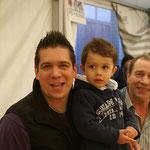 Äti, Papi und Junior von Allmen