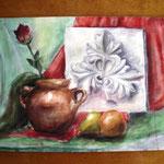 Дубінська Марія 8-В . Осінній натюрморт.