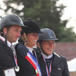 Podium Championnat de France Amateur Elite