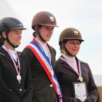 Podium Championnat de France Amateur 2