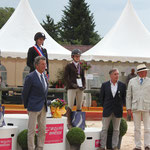 Podium Championnat de France Amateur 1