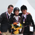 Podium Championnat de France Style Elite