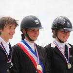 Podium Championnat de France Amateur Jeune