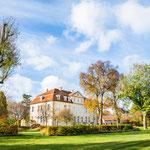 Schloss Grube Gartenseite