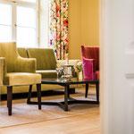 Hotel Prignitz: Hochzeitssuite Wohnraum