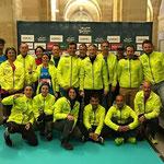 Le groupe au Marathon de La Rochelle 2015