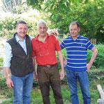 in mezzo a due super beccacciai, Massimo B. ed Enrico
