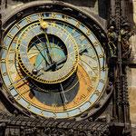 Horloge de l'Hotel de Ville - Cadran astronomique