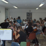 Travail d'Orchestre pour préparation Concert Campus à la Coume à Mosset ( Merci à Marta, Olivier et toute l'équipe)