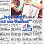 Kronen Zeitung vom18.Sept. 2014