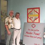 Bei meinen Kollegen Franz Stoisser in Graz ( Inhaber von Hotel Stoisser in Loipersdorf)