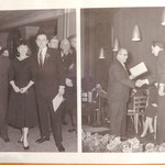 Photo Uebergabe Anerkennungspreis 1955 an Franco Annoni