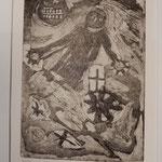 """Franco Annoni Radierung 12 """"Figura"""""""