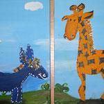Dies wurde für ein Kindergarten gemalt