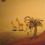 in der wüste 50 x 60 cm