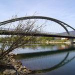 Unsere Archerbrücke.