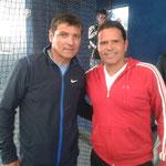 Toni Nadal und Luis Elias