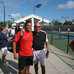 Nick Bollettieri und Luis Elias