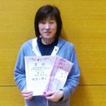 女子フォーティ優勝 福庭恵美子(N.N.C)