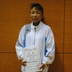 女子シックスティ優勝 蛭子牧子(N.N.C)