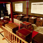 当時の道具が展示されています。