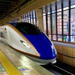 新幹線でいざ北陸へ!