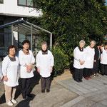勝誓寺仏教婦人会の皆様にお見送りいただきました。有難うございました。