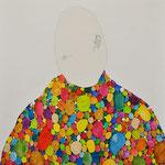 confites / 2011/ tecnica mixta s-tela / 100x112 cm
