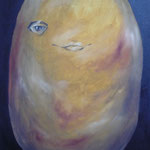 papa amarilla / 2010 /oleo s-tela / 60x85 cm