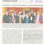 Article du Ouest France du 18/07/2012