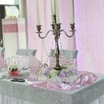 Kerzenständer, Hochzeitsdekoration