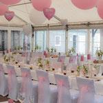 Raumdekoration, Vintage, Luftballons, Hochzeitstafel