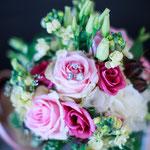 Brautstrauß vintage, Floristik